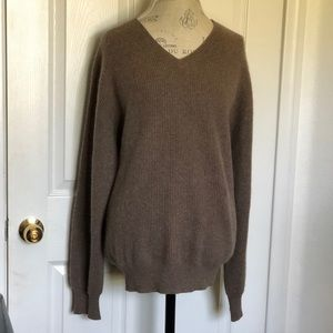 Oversized sweater cashmere